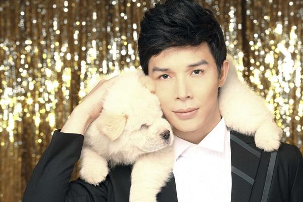 Nathan Lee chụp bìa single với cún cưng 2