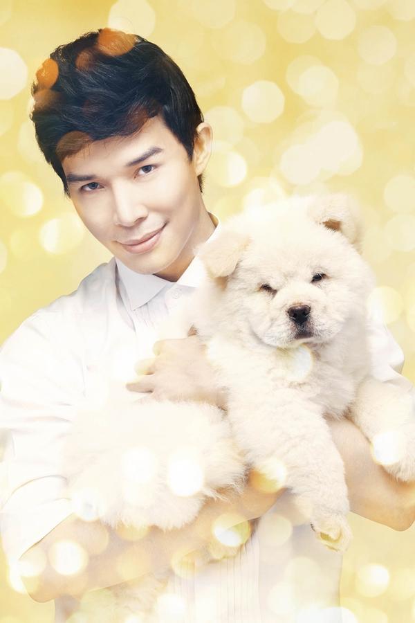 Nathan Lee chụp bìa single với cún cưng 6