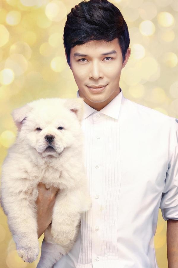 Nathan Lee chụp bìa single với cún cưng 7