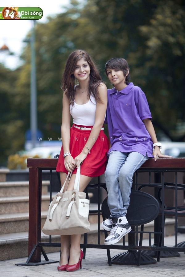 Những hot girl có hoàn cảnh gia đình đặc biệt 4