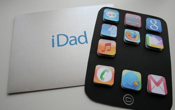 Ý tưởng về chiếc iDad tặng papa