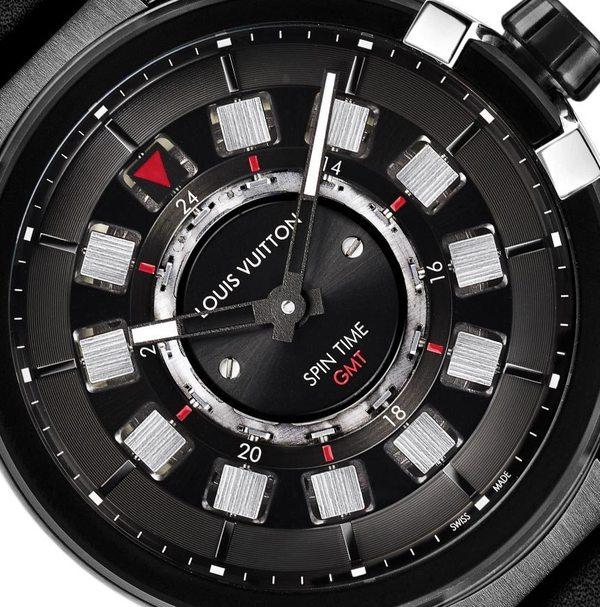Điểm danh 3 mẫu đồng hồ cảu Louis Louis-Vuitton-Tambour-eVolution-gmt-black-watches-6-2bc27