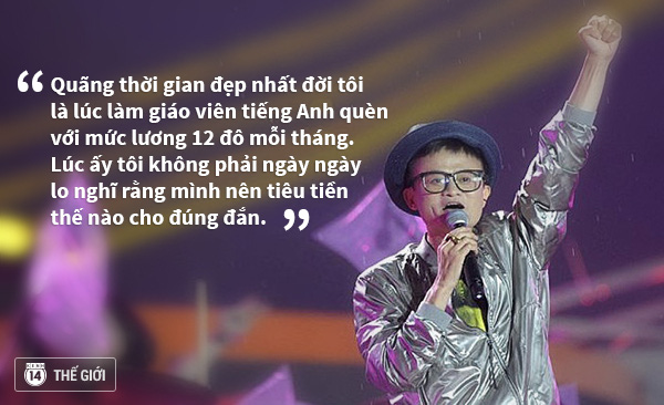 tỷ phú Jack Ma và những triết lý vàng đáng suy ngẫn