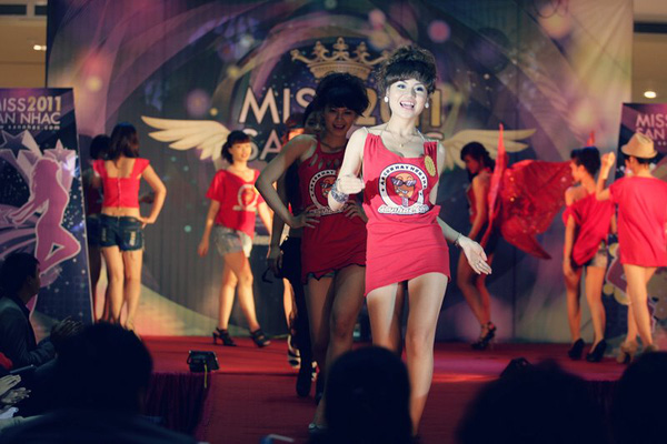 Toả sáng với Miss Sàn Nhạc 2012 6