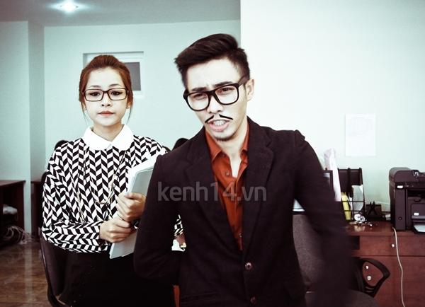 """Chi Pu bất ngờ xuất hiện trong """"Gangnam Style"""" chất lừ của St.319 2"""