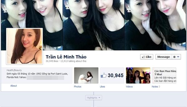 Nghi lộ ảnh nóng của hot girl bán hàng online Minh Thảo 4