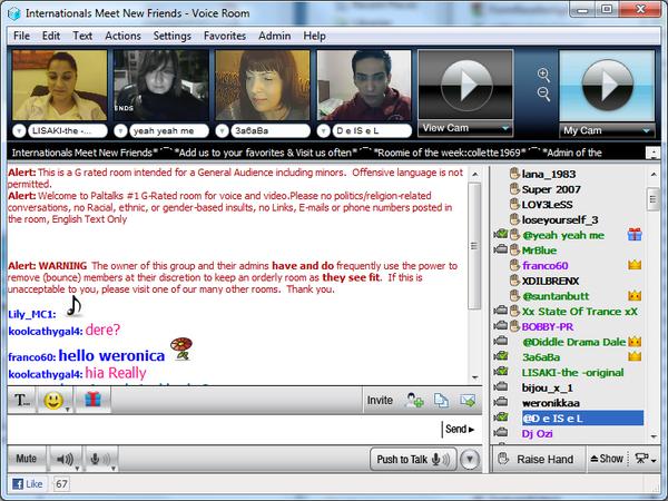 villige damer yahoo chat rooms