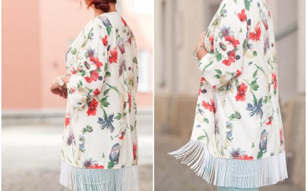 5 bước biến áo sơ mi cũ thành áo kimono cardigan cực đẹp