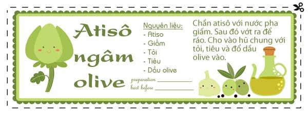 Hay ho lạ lẫm với các món ăn chế biến từ olive 2