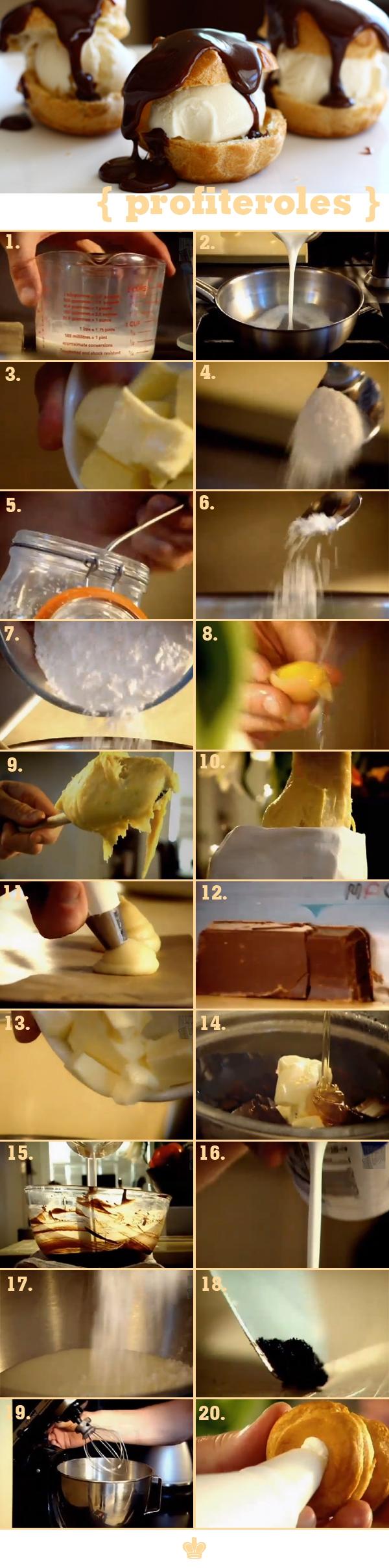 """Bí quyết làm bánh su kem """"hoàn hảo"""" của Gordon Ramsay 1"""