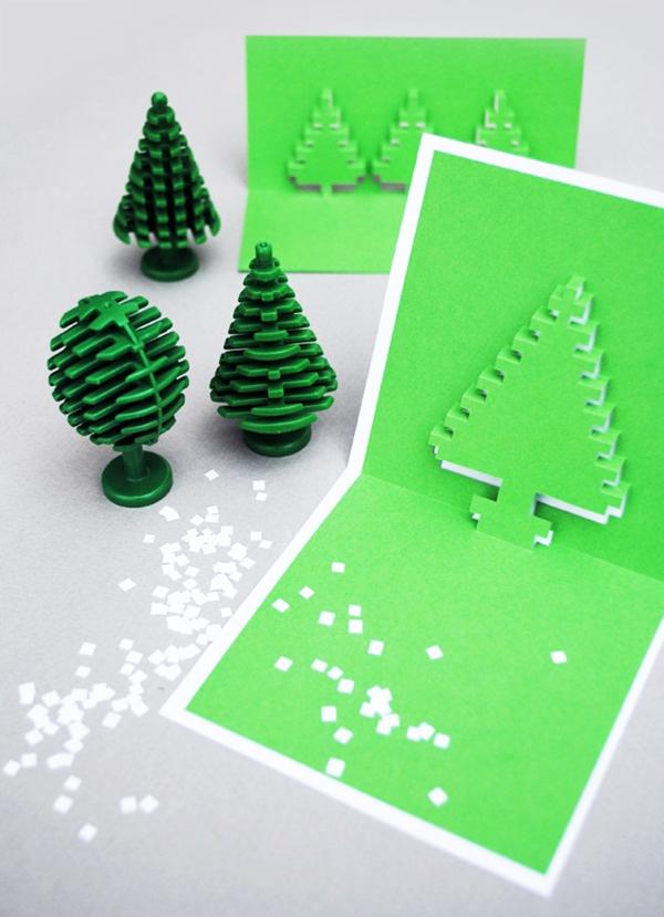 4 mẫu thiệp pop-up độc đáo mùa Noel 12