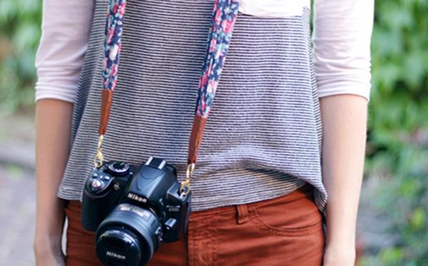 Dây máy ảnh xinh xinh êm ái cho bạn mê chụp ảnh
