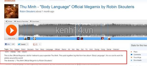 DJ nổi tiếng thế giới mix album Dance của Thu Minh 1