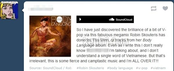 DJ nổi tiếng thế giới mix album Dance của Thu Minh 4