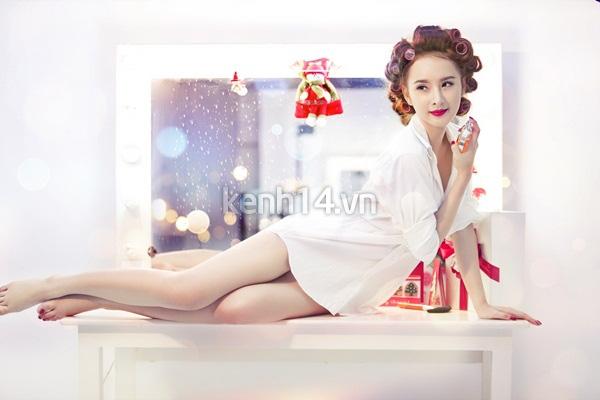 Angela Phương Trinh tung ảnh đẹp lung linh sau khi sửa mũi 5