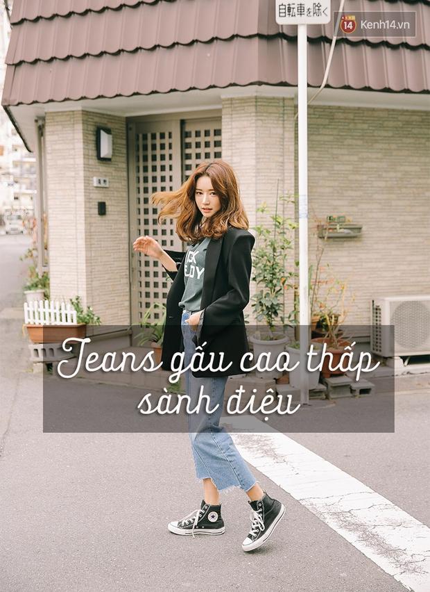 6 cách làm mới quần jeans đảm bảo chất từ các fashion blogger mà bạn nên học hỏi - Ảnh 5.