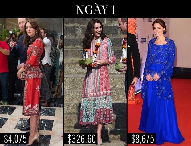 Công nương Kate chi hơn 1 tỉ VNĐ cho 17 bộ đồ trong tuần công du - Ảnh 1.