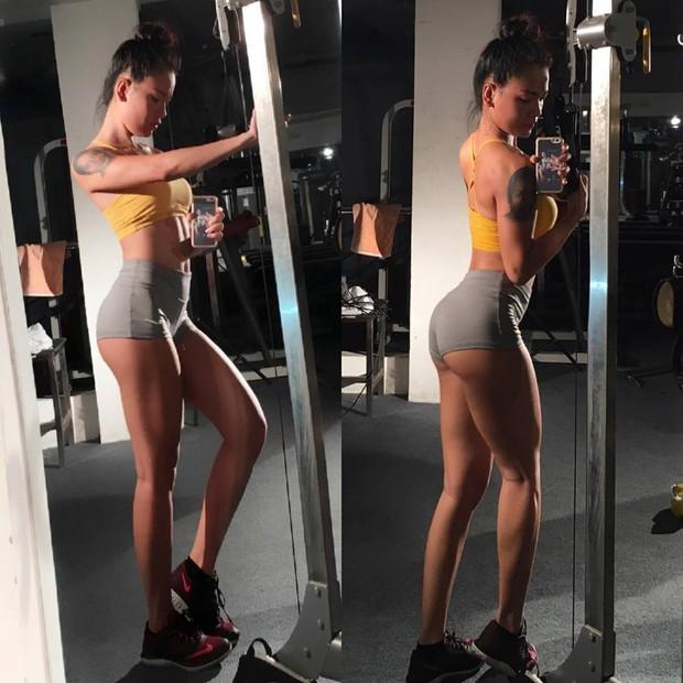 Ai bảo cứ phải Mỹ Latin mới nóng bỏng? Gái Việt chăm tập gym còn sexy hơn thế! - Ảnh 7.