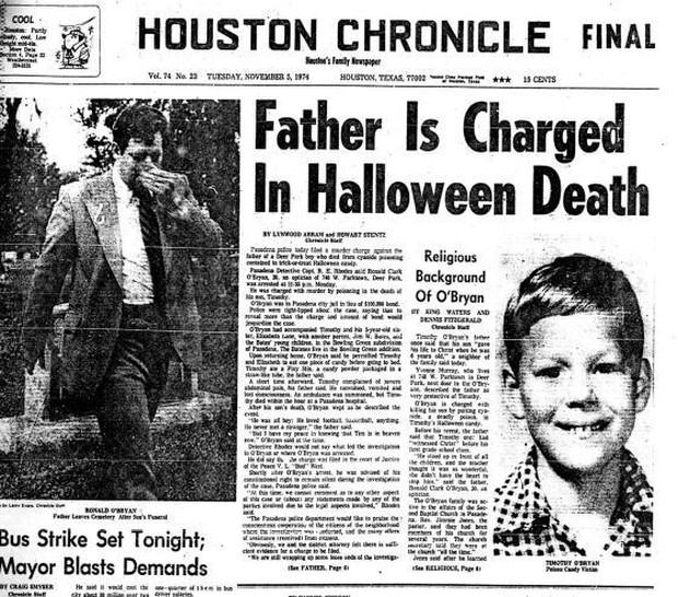 Vụ án đêm Halloween khiến nước Mỹ bàng hoàng: Cha đầu độc, giết con trai để lấy tiền bảo hiểm - Ảnh 2.