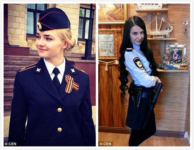Chùm ảnh: Những nữ cảnh sát xinh đẹp nhất nước Nga - Ảnh 5.