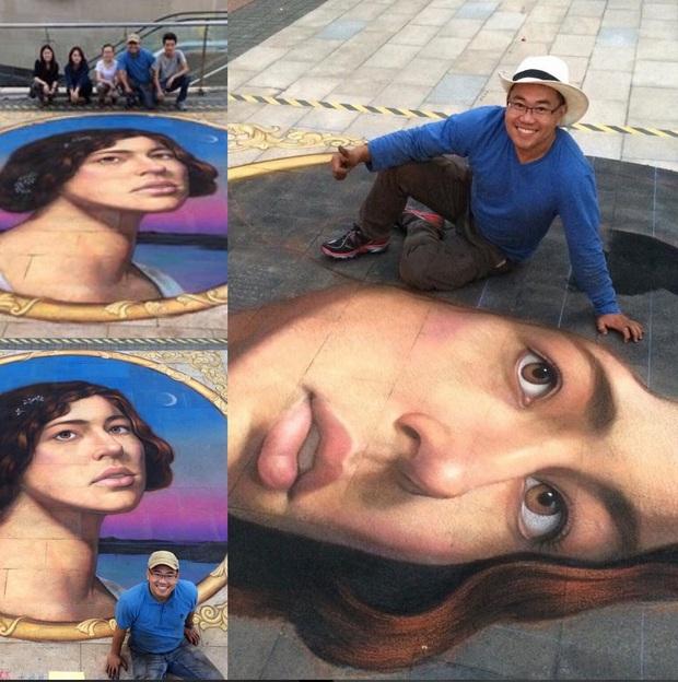 Từ chàng trai vẽ tranh đường phố thành họa sĩ gốc Việt đạt nhiều giải thưởng ở nước Mỹ - Ảnh 2.
