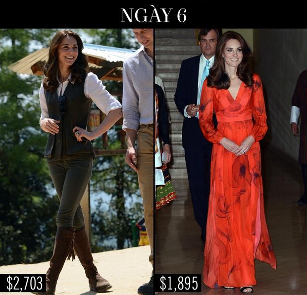 Công nương Kate chi hơn 1 tỉ VNĐ cho 17 bộ đồ trong tuần công du - Ảnh 19.