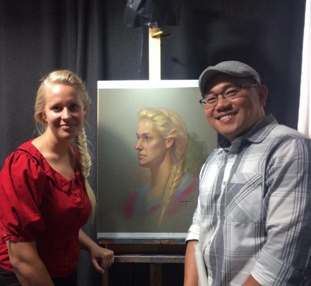 Từ chàng trai vẽ tranh đường phố thành họa sĩ gốc Việt đạt nhiều giải thưởng ở nước Mỹ - Ảnh 5.