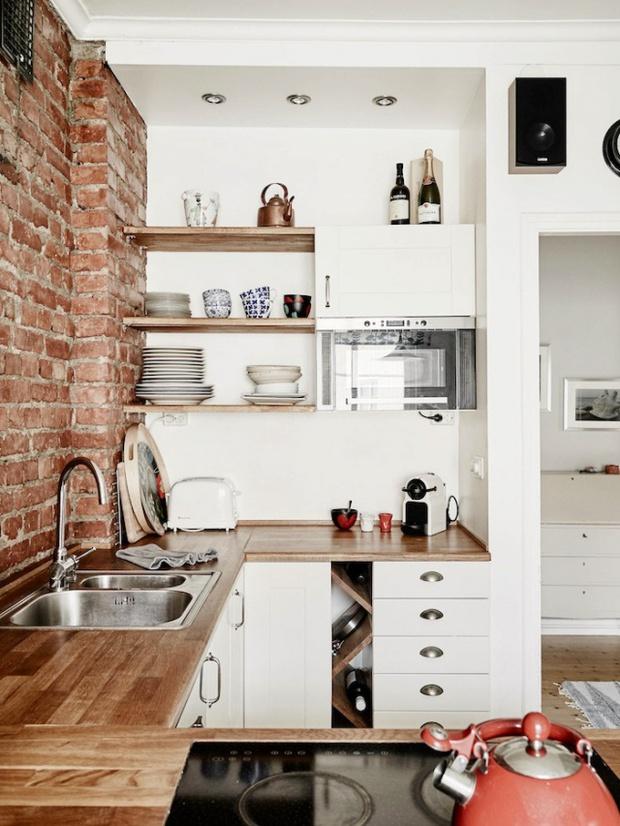 Làm mới không gian bếp chật hẹp thành căn bếp 5 sao lung linh - Ảnh 12.