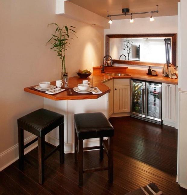 Làm mới không gian bếp chật hẹp thành căn bếp 5 sao lung linh - Ảnh 3.