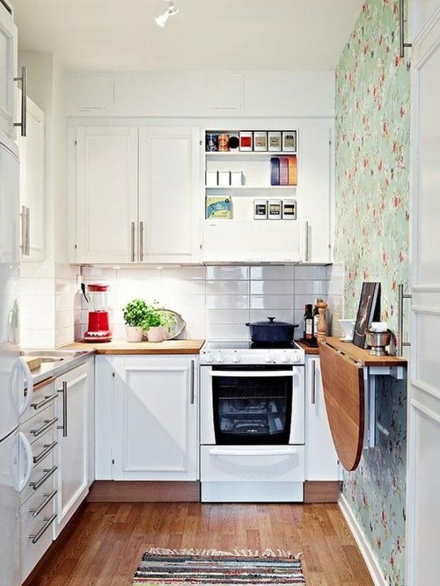 Làm mới không gian bếp chật hẹp thành căn bếp 5 sao lung linh - Ảnh 7.