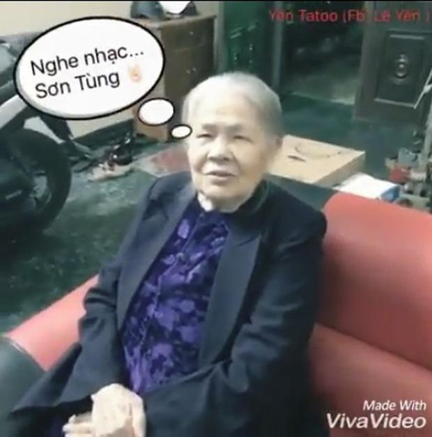 Bà ngoại 90 tuổi thích mê nhạc Sơn Tùng M-TP - Ảnh 3.