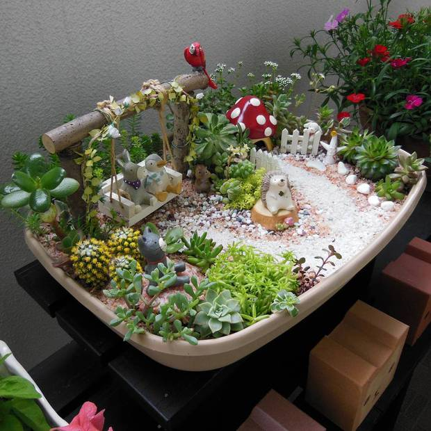 Đem thiên nhiên vào nhà với 17 ý tưởng trưng bày cây cảnh bắt mắt - Ảnh 9.