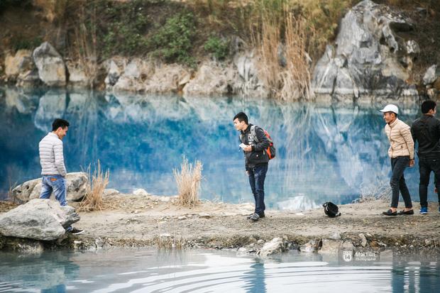 Hồ nước xanh ngắt kì lạ ở Hải Phòng: Địa điểm mới đang khiến giới trẻ xôn xao - Ảnh 11.