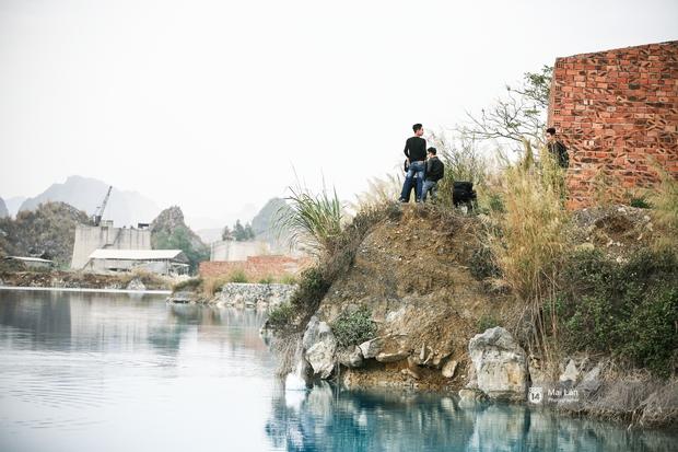 Hồ nước xanh ngắt kì lạ ở Hải Phòng: Địa điểm mới đang khiến giới trẻ xôn xao - Ảnh 8.