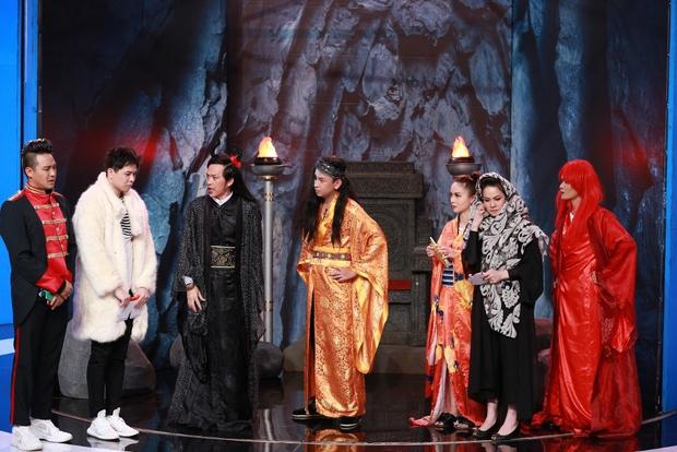Hoài Linh thẳng thừng chê Trịnh Thăng Bình và Yến Trang tại Ơn giời - Ảnh 13.
