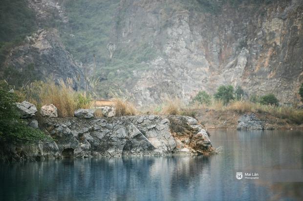 Hồ nước xanh ngắt kì lạ ở Hải Phòng: Địa điểm mới đang khiến giới trẻ xôn xao - Ảnh 5.