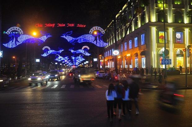 Sài Gòn đã thay đổi cách trang trí đường phố dịp Tết như thế nào trong 5 năm qua? - Ảnh 8.