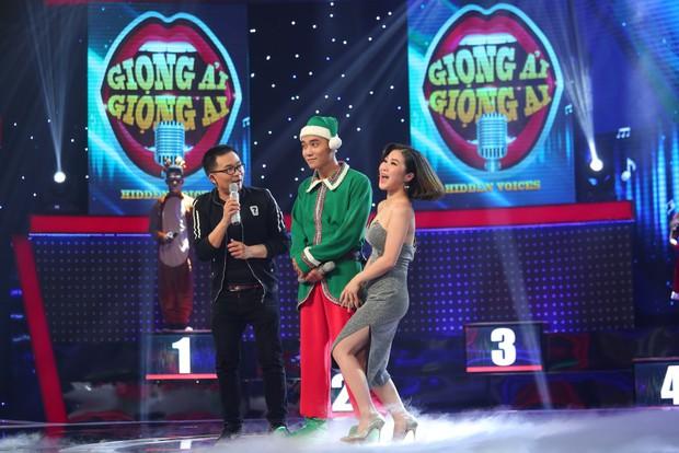 Hương Tràm bị thí sinh nam lừa để hôn môi ngay trên sân khấu - Ảnh 3.