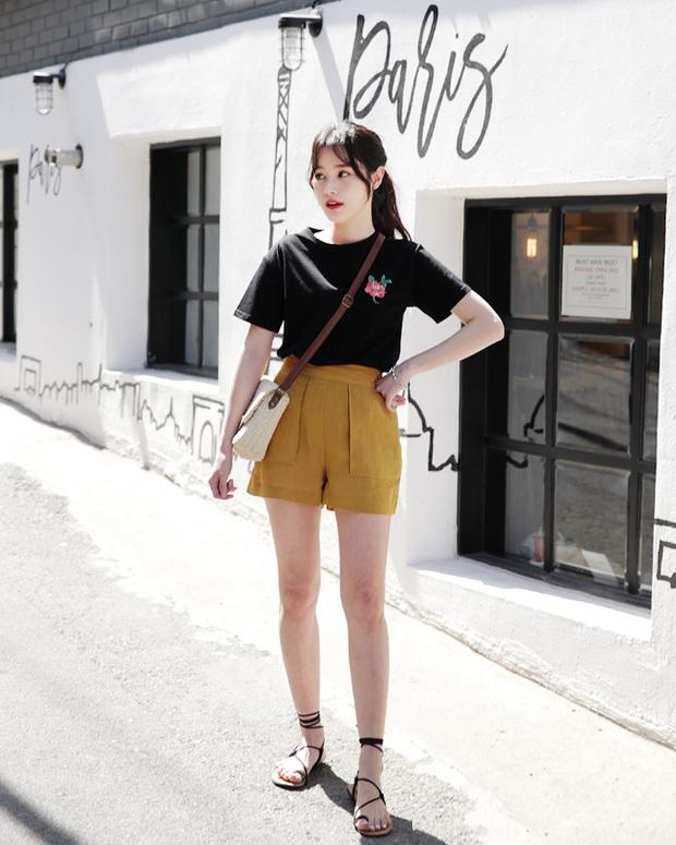 12 công thức diện shorts vải mùa hè xinh ơi là xinh lại mát rượi cho các cô nàng học theo - Ảnh 1.