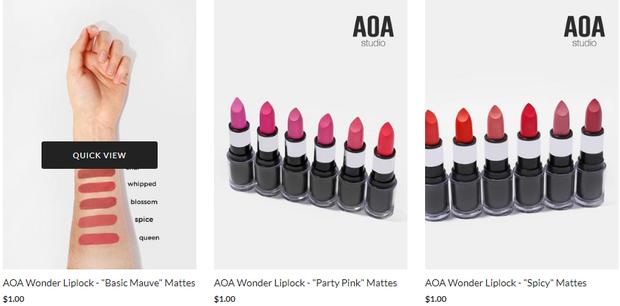 Các tín đồ làm đẹp đang phát sốt vì mỹ phẩm 1$ của thương hiệu Mỹ AOA Studio, nhưng liệu có đáng mua? - Ảnh 1.