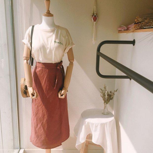 Váy quấn - Ảnh 5.