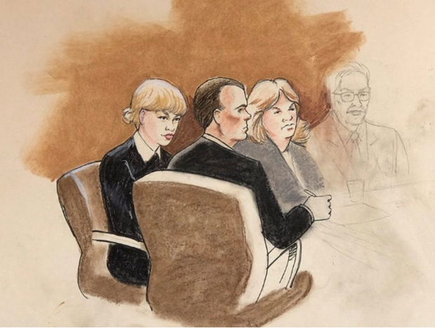 Taylor Swift chỉ yêu cầu bồi thường 22.000 VND trong vụ kiện DJ tấn công tình dục - Ảnh 1.
