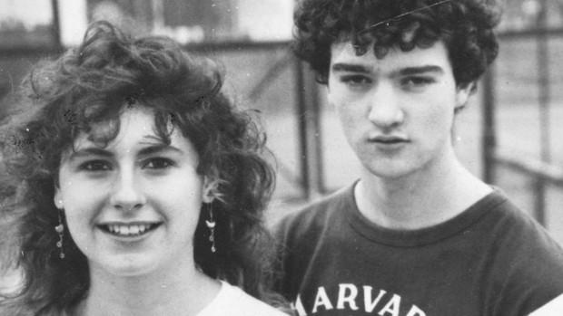 Nicola Myers và bạn trai Kenneth McBride.