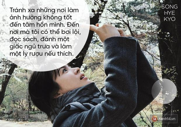 Song Hye Kyo và phụ nữ thời nay: Tự lực tài chính, chủ động ước mơ và đừng ngược đãi bản thân - Ảnh 3.