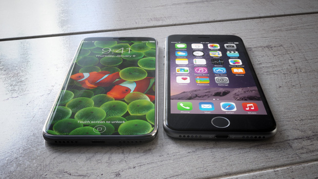 Ngắm concept iPhone 8 đẹp không tì vết mà ai cũng thèm muốn - Ảnh 1.