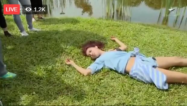 Lại ngất xỉu, nhưng Minh Tú vươn lên hẳn thứ 2 Asias Next Top Model! - Ảnh 4.