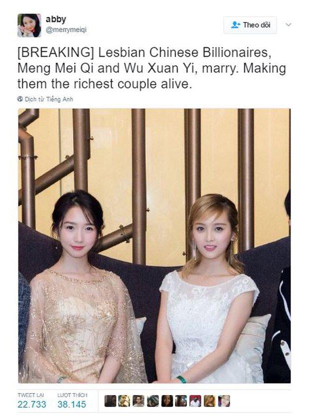 Cộng đồng mạng xôn xao câu chuyện cặp tỷ phú đồng tính Trung Quốc kết hôn, nhưng sự thật đằng sau không ai ngờ... - Ảnh 1.