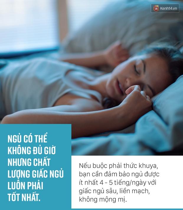 Nếu buộc phải thức khuya, hãy làm theo 4 điều chuyên gia khuyên để bảo vệ sức khỏe - Ảnh 2.