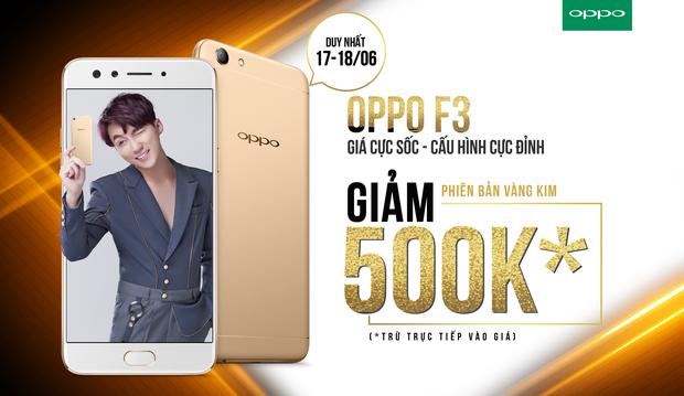 OPPO F3: Chiếc smartphone đáng mua với cấu hình vượt trội trong phân khúc tầm trung - Ảnh 1.
