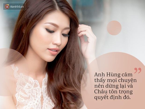 Quỳnh Châu nói về chuyện tình đã kết thúc với Quang Hùng: Đau lòng vì đến bây giờ vẫn không biết lý do chia tay - Ảnh 1.